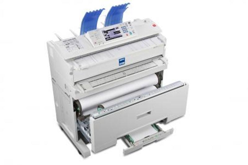 Máy photocopy cũ A0 Ricoh W2400 nhập khẩu Tân Đại Phát