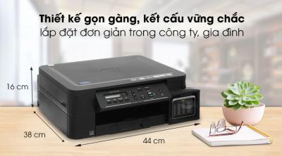 Máy In Phun Màu Brother đa năng in scan copy DCP-T510W Wifi cũ