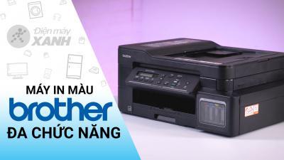 Máy In Phun Màu Brother Inkjet đa năng in scan copy DCP-T710W Wifi  cũ