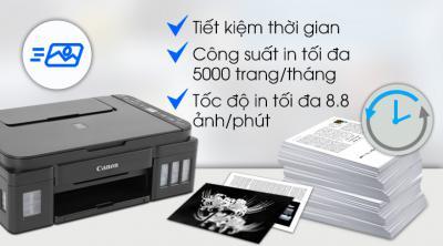 Máy In Phun Màu Canon đa năng in scan copy PIXMA G3010 Wifi  cũ