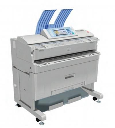 Máy photocopy cũ A0 Ricoh W3600 nhập khẩu Tân Đại Phát